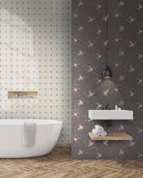 tapeten im badezimmer die schönsten ideen für die