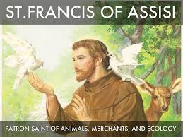 francis of assisi feast patron of animals merchants