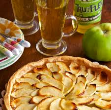 Rustic Somerset Apple And Cider Tart