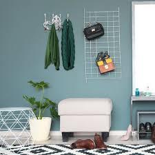 garderobenleiste vintage 4 kleiderhaken landhausstil gusseisen h x b x t 20 5 x 34 x 12 5 cm antik weiß