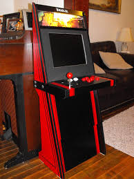 Mini Arcade Cabinet Kit Uk by A Super Easy Arcade Machine From 1 Sheet Of Plywood 15 Steps