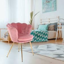 details zu esszimmerstühle samt küchen wohnzimmer modern stuhl polsterstuhl rosa gästestuhl