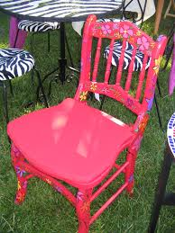 Chair-Whimsical Hand-Painted | Bliss 65 Best Front Yard And Backyard Landscaping Ideas Designs Lets Do Whimsical Outdoor Ding Making It Lovely A Romantic Garden Wedding Every Last Detail Stevenson Manor Upholstered Side Chair With Turned Legs By Standard Fniture At Household Club Pair Vintage Rebar Custom Painted Vegetable Back Bistro Chairs 25 Patio To Buy Right Now Carate Batik Lagoon Rounded Corners Cushion Blue 6 Montage Antiques Display Of Counter Stool Jugglingelephants