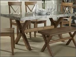 Delightful Decoration Zinc Dining Table Superb