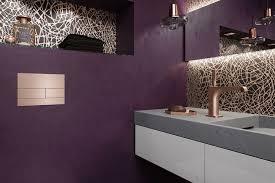 es kommt farbe ins bad aktuelle badezimmertrend