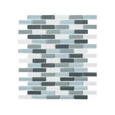 Jeffrey Court Mosaic Tile by Blues Jeffrey Court The Home Depot