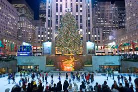Ge Artificial Christmas Trees by Big Christmas Tree In Nyc Christmas Lights Decoration