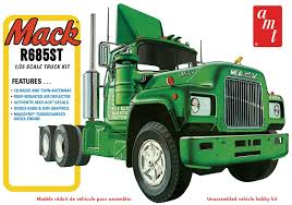 Mack R-685ST   Model Truck Kits   HobbyDB Rc4wd Semi Truck Sound Kit Youtube Chevy Sport Pickup Model Truck Kits Hobbydb Fascinations Metal Earth 3d Diy Dennis Tanker 19636 Amt Chevrolet Titan 90 Truck Tractor 125 Scale Sealed Kit Two Ford Kits 2708 Wild Hoss 2707 Super Stones Pickup Model Archives Kiwimill Maker Blog Reserved Important Information An Trucks Standard B Liberty Wwi Us Army 100 New Molds Icm Holding Italeri 124 3899 Iveco Stralis Hiway Plastic Kit 1953 Panel Revell 854189 Shore Patterns Kits 131 The 50s Tow