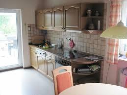 nolte küche eiche zwei zeilen landhaus front massiv mit einbaugeräten