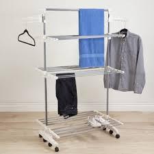 Decorative Clothes Rack Australia by Clothes Drying Racks U0026 Clotheslines You U0027ll Love Wayfair