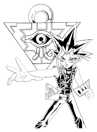 Online Yugioh Coloring Pages 22 With Additional Gallery Ideas