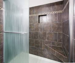 Awesome 30 Small Bathrooms Large Tiles Design Ideas Of 89 Tile Sizes ... Promising Grey Shower Tile Bathroom Tiles Black And White Decorating Great Bathrooms Wall Ideas For Small Bath Design Bold For Decor Designs Gestablishment Home Bathroom Ideas Small Decorating On A Budget Unique Affordable Beige Plus Tiling 30 Best With Images Wall Tile Bathrooms Sistem As Corpecol Floor