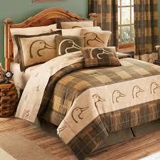 Ducks UnlimitedR Plaid Comforter Sets
