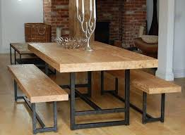 Dining Table Bench Seat Awesome And Set Best Ideas In