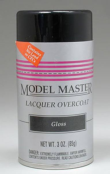 Testors Clear Gloss Finish Spray