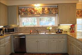 White Kitchen Curtains With Sunflowers by Kitchen Cornice Valance Red Gingham Kitchen Curtains No Sew
