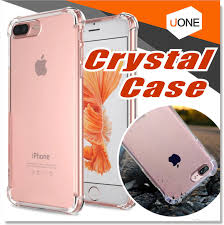 For Iphone X 8 7 Plus Ultra Hybrid Case Crystal Clear Flexible Tpu