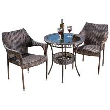 Tudor City 3 Piece Bistro Set & Reviews | AllModern European Style Cast Alinum Outdoor 3 Pieces Table And Chairs Piece Tasha Accent Side Set The Brick Zachary 3piece Occasional By Crown Mark Fniture Amazoncom Winsome Wood 94386 Halo Back Stool Kitchen Ding Sets Piece Table Sets Coaster Sam Levitz Obsidian Pub Chair Gardeon Wooden Beach Ffbeach Winners Only Broadway With Slat Tms Bistro Walmartcom 3piece Drop Leaf Beige Natural Bernards Ridgewood Dropleaf Counter Wayside