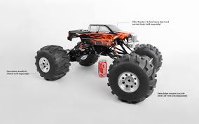 100 Rc 4wd Truck RC4WD 14 Killer Krawler 2 Kit Black