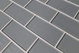 chimney smoke gray 3x6 glass subway tiles rocky point tile