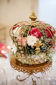 Quinceanera Decorations For Hall by Best 25 Crown Centerpiece Ideas That You Will Like On Pinterest