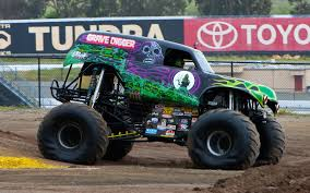 Ride Along With Grave Digger - Performance Video - Truck Trend Traxxas 116 Grave Digger New Rc Car Action Amazoncom Axial Smt10 Monster Jam 4wd Used Original Power Wheels In Willow Street Truck Proline Factory Team Lot Detail Drawn Truck Grave Digger Monster Pencil And Color Drawn Craigslist Best Hot Green 4 Time Champion Bad New Bright Ff 128volt 18 Chrome Battery Upgrade For 24v 2wd Rtr Wbpack Tq 24 World Finals Xvii Competitors Announced Mesmerizing