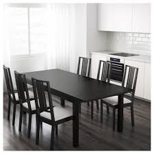 Ikea Edmonton Kitchen Table And Chairs by Bjursta Extendable Table Brown Black 175 218 260x95 Cm Ikea