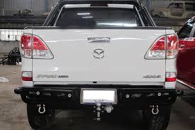 100 Truck Bumper Step American Style Bullbar Side Step Rear Step Bumper For Mazda BT50