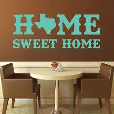 Amazoncom Texas Wall Decal Home Sweet Home Vinyl Sticker