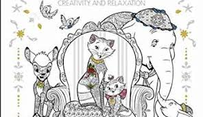 New Cover Revealed For Third Disney Art Therapy Book Animals