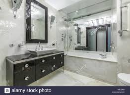 100 Marble Walls Cozy And Bright Bathroom Interior With Marble Walls And