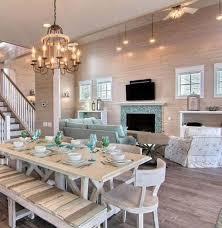 4 Beach House Dining Room Ideas Marvelous Tables Bews2017 At Table Beachy