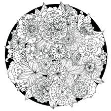 Free Printable Coloring Pages For Adults No Downloading Download Adult Mandala