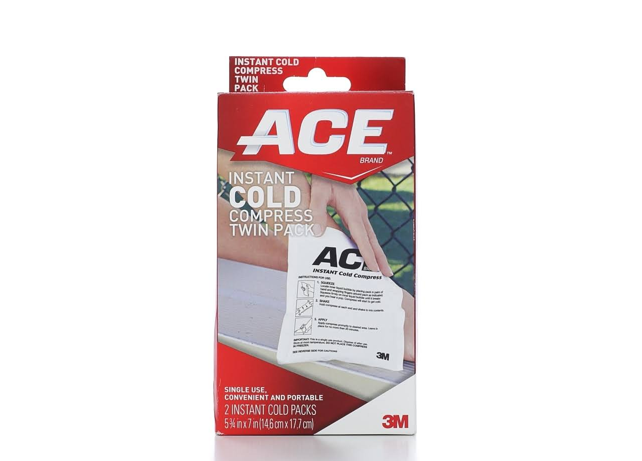 Ace Instant Cold Compress Twin Pack