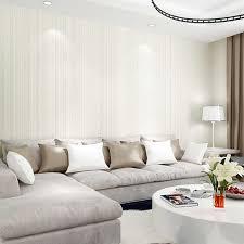 plain linear strukturierte tapete einfarbig streifen wand papier weiß beige non woven tapeten für wohnzimmer schlafzimmer home