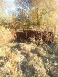 Old Cattle Trailer On An Farm