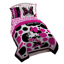 Mickey Mouse Bedding Twin by Amazon Com Disney Minnie Exploded Hearts Reversible Comforter