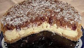 kirsch pudding streuselkuchen beste bäckerei rezepte