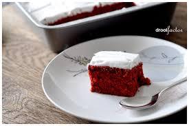 velvet sheet cake with italian meringue frosting
