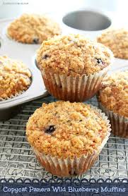 Panera Pumpkin Muffin Ingredients by Copycat Panera Wild Blueberry Muffins From Life With The Crust Off