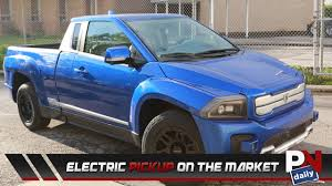 An Electric Pickup On The Market - YouTube Awomesauce Saturday Italian Ev Truck Puts Us Pickups To Shame Electric Vehicle Progress Via Motors To Use A123 Lithiumion Cells In Trucks Are Composite Pickup Trucks In Our Future Roadshow Model U The Tesla Pickup Charlotte Company Hopes Lead Revolution Wfae General Introduced A Hydrogen Fuel Cellpowered Truck Tesla Unveils An Electric Pick Up Bigger Than The Ford F150 Zap This Vintage 91 Mazda Is All Chinese Cargo For Sale China Wkhorse W15 Worlds First Does 060 55