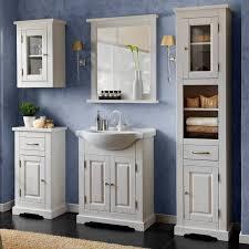 landhaus badezimmer wandschrank hängeschrank liria 56 massivholz weiß gebleicht b x h x t ca 45 x 65 x 25cm