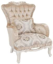 casa padrino luxus barock sessel beige weiß 76 x 83 x h 109 cm wohnzimmer sessel mit blumenmuster und dekorativem kissen barock möbel