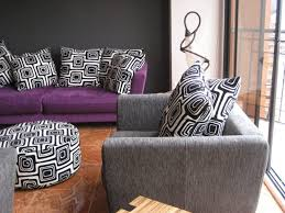 Grey And Purple Living Room by Dazzling Purple Living Room Decor Room Furniture Contemporary