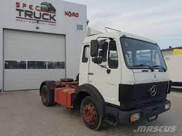 Used Mercedes-Benz SK 1017LS, German Truck, Steel /Air, - Very Low ...