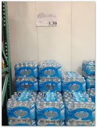 Bottled Water From Costco Is A Good Deal At Only 84 Cents Per Bottle