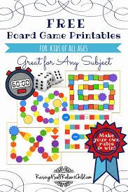 Free Game Board Maker Best 25 Kids Games Ideas Science