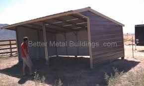 loafing sheds carports and custom metal buildings