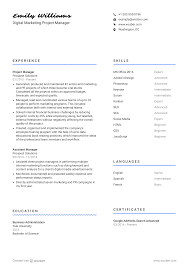 Digital Marketing Project Manager Resume Example Rumescvs References And Cover Letters Carson College Of Associate Producer Resume Samples Templates Visualcv The Best 2019 Food Service Resume Example Guide 6892199 7step Guide To Make Your Data Science Pop Springboard Blog How To Write An Insurance Tips Examples Staterequirement 910 Experience Section Examples Crystalrayorg Free You Can Download Quickly Novorsum Five Good Apps For Job Seekers Techrepublic Technical Skills Include Them On A