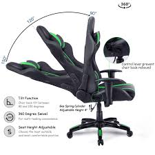Costway Executive Racing Style High Back Reclining Chair Gaming Chair  Office Computer (Black+Green) Maharlika Office Chair Home Leather Designed Recling Swivel High Back Deco Alessio Chairs Executive Low Recliner The 14 Best Of 2019 Gear Patrol Teknik Ambassador Faux Cozy Desk For Exciting Room Happybuy With Footrest Pu Ergonomic Adjustable Armchair Computer Napping Double Layer Padding Recline Grey Fabric Office Chairs About The Most Wellknown Modern Cheap Find Us 38135 36 Offspecial Offer Computer Chair Home Headrest Staff Skin Comfort Boss High Back Recling Fniture Rotationin Racing Gaming